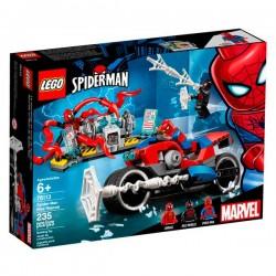RESCATE EN MOTO DE SPIDERMAN LEGO 76113