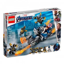 CAPITAN AMERICA AVENGERS LEGO 76123