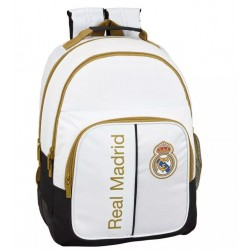 REAL MADRID MOCHILA DOBLE ADAPTABLE