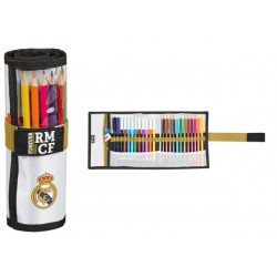 REAL MADRID PLUMIER ENROLLABLE 27 PIEZAS