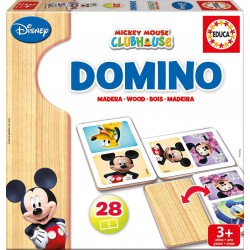 MICKEY MOUSE DOMINO MADERA