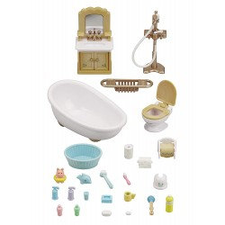 SYLVANIAN FAMILIES SET BAÑO COUNTRY