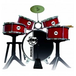 BATERIA BOLDEN RED DRUMS