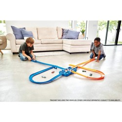 HOT WHEELS TRACK BUILDER CAJA ACROBACIAS