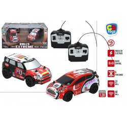 SET 2 COCHES RADIO CONTROL 1:28 TALLY EXTREME
