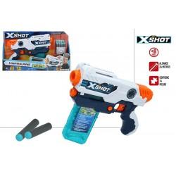 X-SHOT EXCEL PISTOLA HURRICANE + 8 A