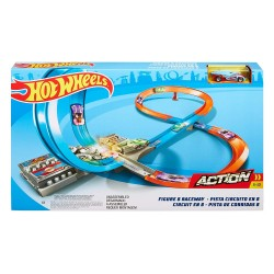 HOT WHEELS SUPERLOOPINGS EN FORMA DE 8