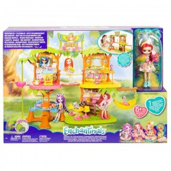 ENCHANTIMALS SUPERCAFE DE LA SELVA MAGICA