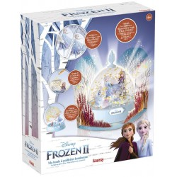 FROZEN II - LIGHT UP GLITTER GLOBE