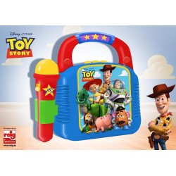 TOY STORY REPRODUCTOR MP3 CON MICROFONO
