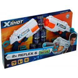 X-SHOT EXCEL PACK 2 PISTOLAS REFLEX 6 BOTES