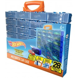 HOT WHEELS CAJA PARA 28 COCHES