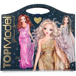 TOP MODEL CUADERNO PARA COLOREAR