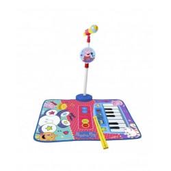 ALFOMBRA BATERIA Y PIANO CON MICRO
