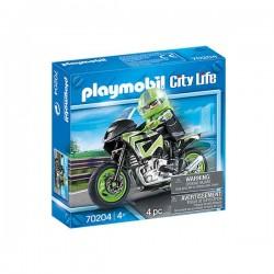 MOTO PLAYMOBIL 70204