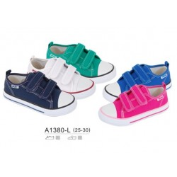 ZAPATILLA LONETA VELCRO A1380 BUBBLE BOBBLE