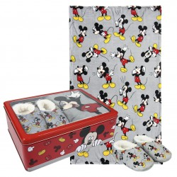 MICKEY MOUSE SET CAJA METALICA
